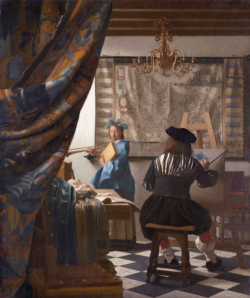 Vermeer - 1662-1665 El arte de la pintura
