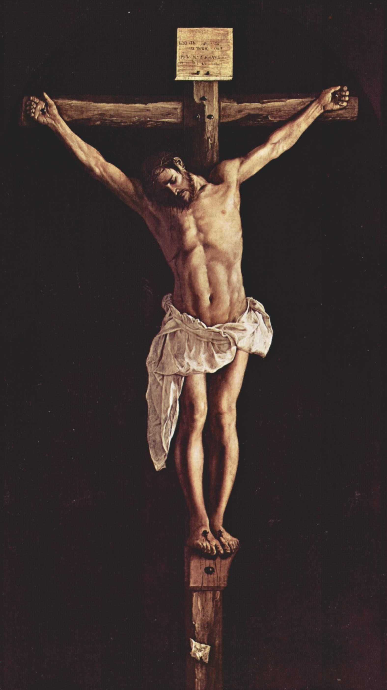 Zurbarán - 1627 Cristo en la cruz