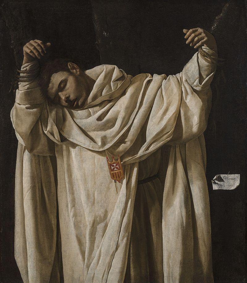 Zurbarán - 1628 San Serapio